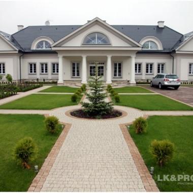 LK&1126 realizacja domu w stylu dworu polskiego