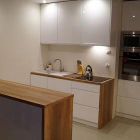 Porada - ściana w kuchni