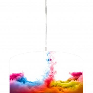 Lampa wykonana metodą nadruku na specjalnym tworzywie do podświetleń. Dzięki temu uzyskujemy bardzo ładne i trwałe kolory. Ekotechnik24.pl