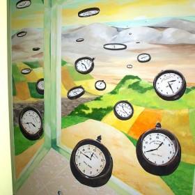 tynki ozdobne i obrazy na ścianach