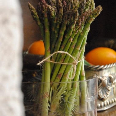 Szparagi tylko teraz są tak pyszne :)