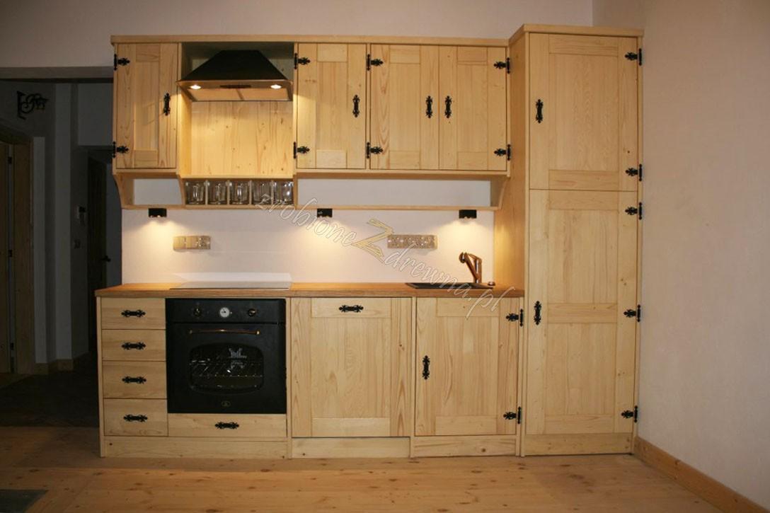 Zdjęcie 412 W Aranżacji Meble Kuchenne Kuchnie Drewniane