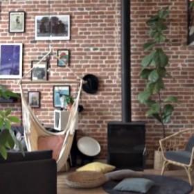 Mieszkanie w stylu loftowym wybudowane na gruzowisku