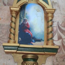 Wykonana przeze mnie kapliczka