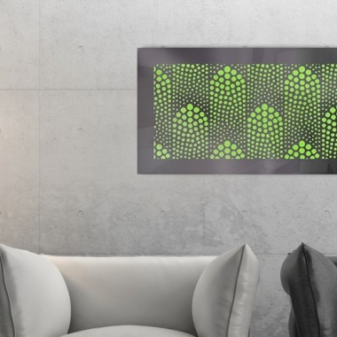 panele dekoracyjne ścienne ze stali nierdzewnej podświetlane LED
