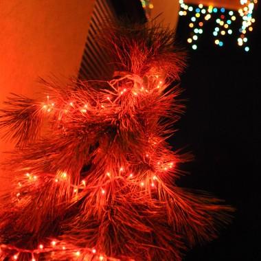 Mój świąteczny domek, już tylko na zdjęciach...