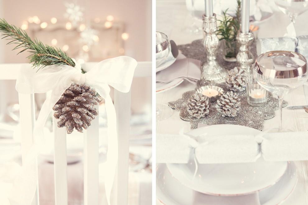 Jadalnia, Ozdoby bożonarodzeniowe na stół