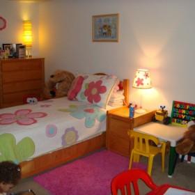 pokoj mojej 4 letniej Marii