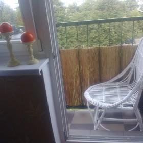 trochę zmian na  balkoniku