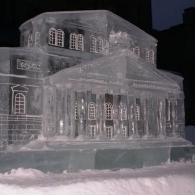Rzeźby lodowe :))