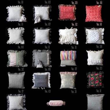 Artystyczne poduszki dekoracyjne