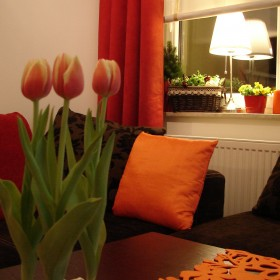 Wiosennie i pomarańczowo:)
