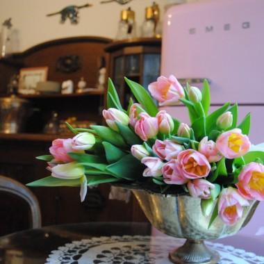 ...no i oczywiście tulipany na Dzień Kobiet :)