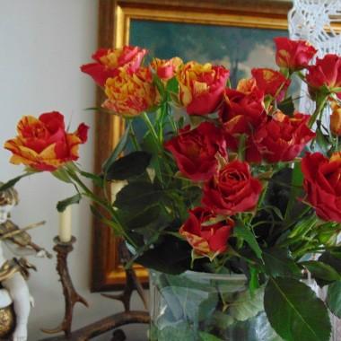 ...............i bukiet róż....................