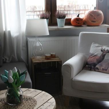 jesienny salon+kuchnia