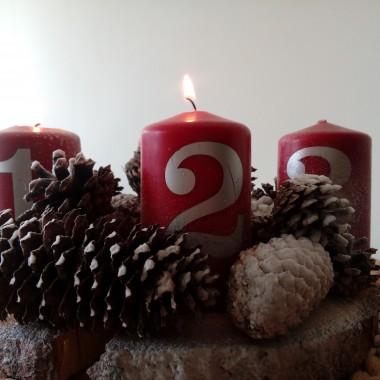 Adwent to dla mnie czas radości, spędzany w gronie rodzinnym. Z najbliższymi co dzień realizujemy zadania z kalendarza: spacerujemy, jeździmy na sankach, łyżwach, robimy porządki, dekoracje na Boże Narodzenie, pieczemy ciasteczka. Uwielbiam ten czas, który we wnętrzu wzbogacam czerwienią. I Wam życzę radości z każdej chwili przybliżającej nas do ŚWIĄT.