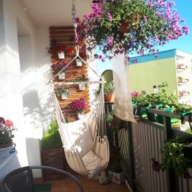 Mały ogród na drugim piętrze:)