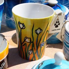 Porcelana ręcznie malowana - kubeczki