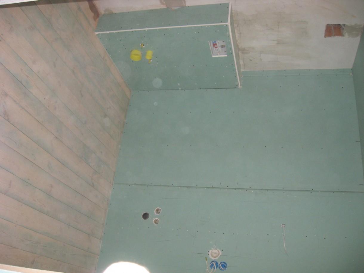 Łazienka, Aranżacja łazienki w garażu