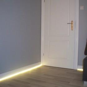Listwy przypodłogowe z nowoczesnym oświetleniem LED