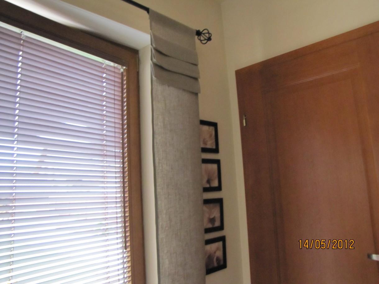Pozostałe, mini roletki lniane .... - zasloneczka na drzwi balkonowe .... dekoracja wg mnie elegancka ...  http://srebrnaagrafka.pl/sklep/agatarn/produkt/mini-roletka-len zapraszam