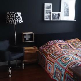 Tylko krowa nie zmienia zdania, czyli kolor w sypialni &#x3B;D