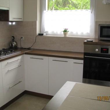 Mała kuchnia w bloku -przed i po remoncie