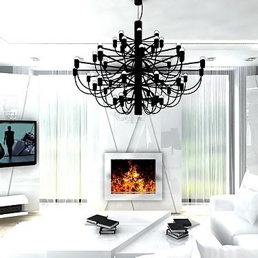 wnętrze białego apartamentu