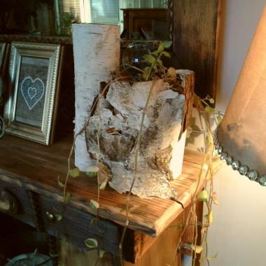 Stara walizka przerobiona na stolik
