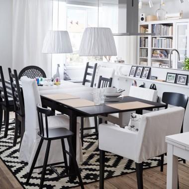 Kuchnia otwarta na salon