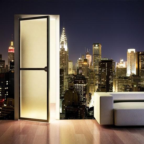 Pozostałe, Dekoracje z Nowym Jorkiem - Panorama miasta nocą.