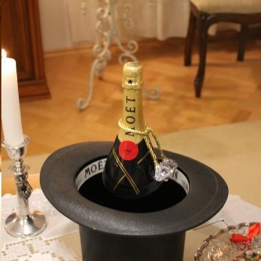 Tego szampana w sylwestra wypiję za Wasze zdrowie :)
