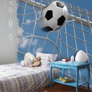 Fototapeta dla dzieci piłka w siatce