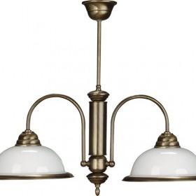 Lampy i plafony mosiężne