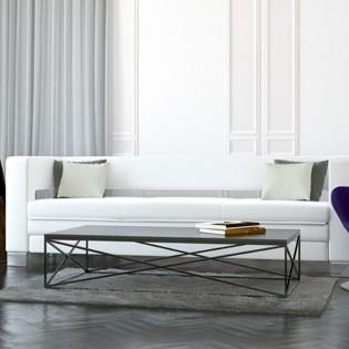 minmalistyczny, nowoczesny, elegancki stolik kawowy MIDNIGHT