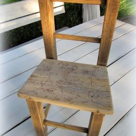 Moje metamorfozy - krzesełko