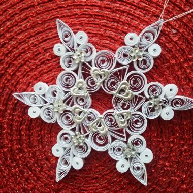 Świąteczne ozdoby -gwiazdki robione własnoręcznie