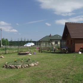 letni domek na działce