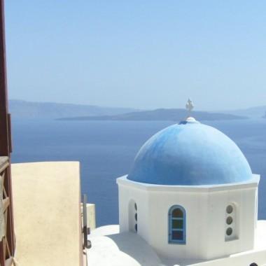 Greckie wyspy-Santorini