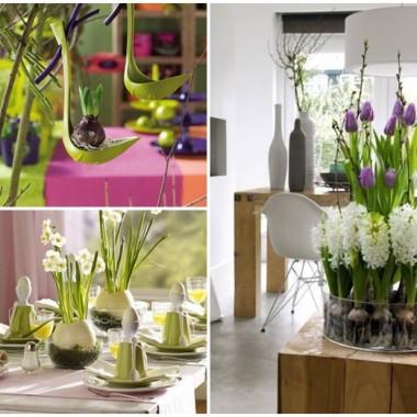 Wielkanocne dekoracje ... zielono czy różowo ?