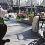 Pozostałe, Kwietniowe lato :) - Stefan wreszcie rozpoczął tarasowe życie i jest bardzo szczęśliwy :)