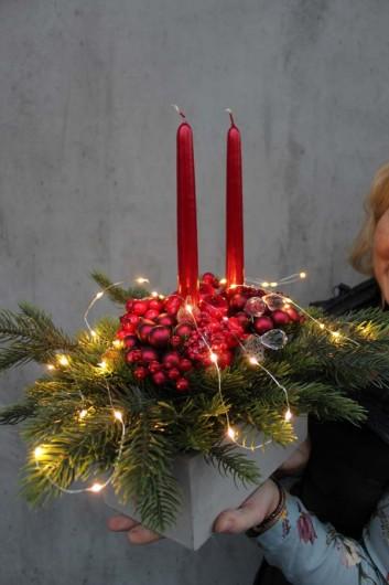 Dekoracje, Dekoracje świąteczne na stół wigilijny