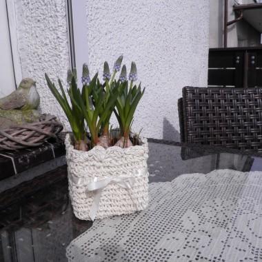 Wiosna powoli rozgościła się u mnie, pojawia się coraz więcej kwiatów, kolorów za którymi jestem bardzo spragniona...Pozdrawiam Wszystkich bardzo serdecznie :)