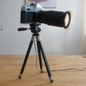 Lampa biurkowa LED z aparatu fotograficznego Mamiya