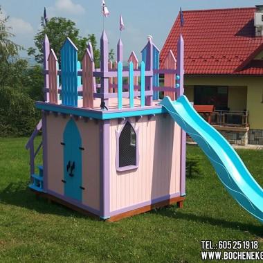 Drewniane domki dla dzieci Bochenek