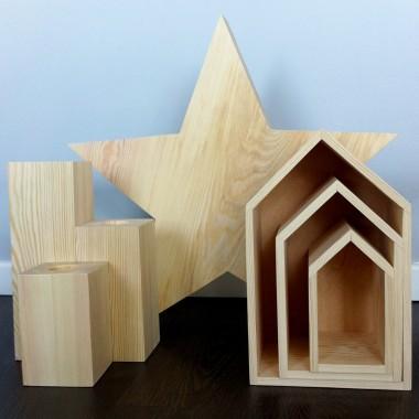 Drewniane dodatki