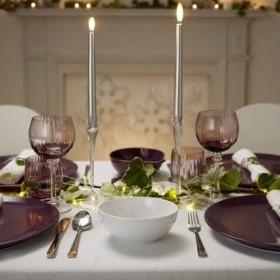 Sylwestrowa dekoracja stołu