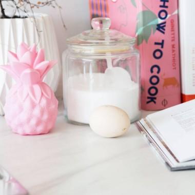 Lampka nocna LED dla dzieci ANANAS różowy