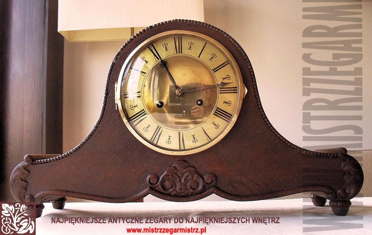 Zdjęcie 1336 W Aranżacji Stare Zegary Kominkowe Półkowe