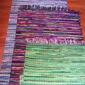Chodniki dywany dywaniki ręczne tkane na krosnach dwustronne